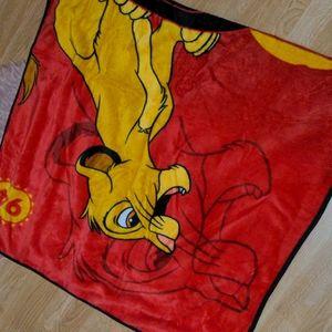 🔥3/30🔥 Disney Lion King Simba Throw Blanket